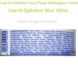 Una Hi-Definition Mud Pasta Definiująca 100ml