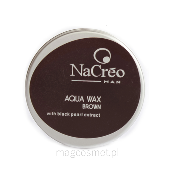 NaCreo Man Aqua Wax Brown 50ml  Cosmetics Online  BioBotanic Insight Una Monrin MagCosmet